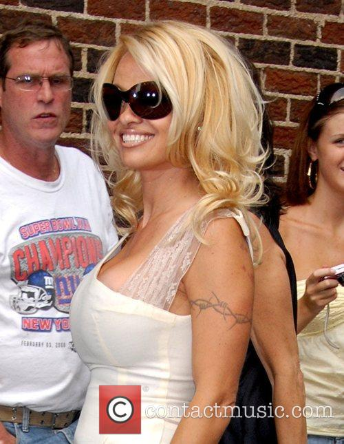 Pamela Anderson and David Letterman 14