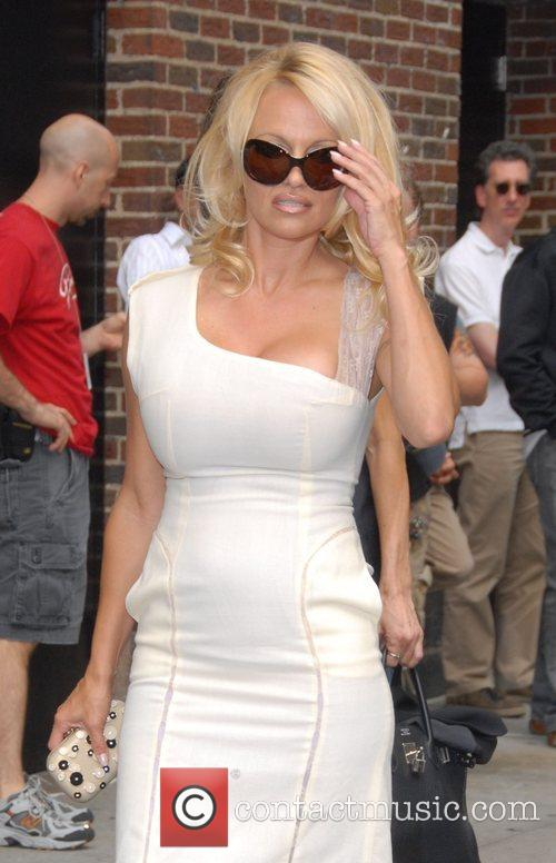 Pamela Anderson and David Letterman 16