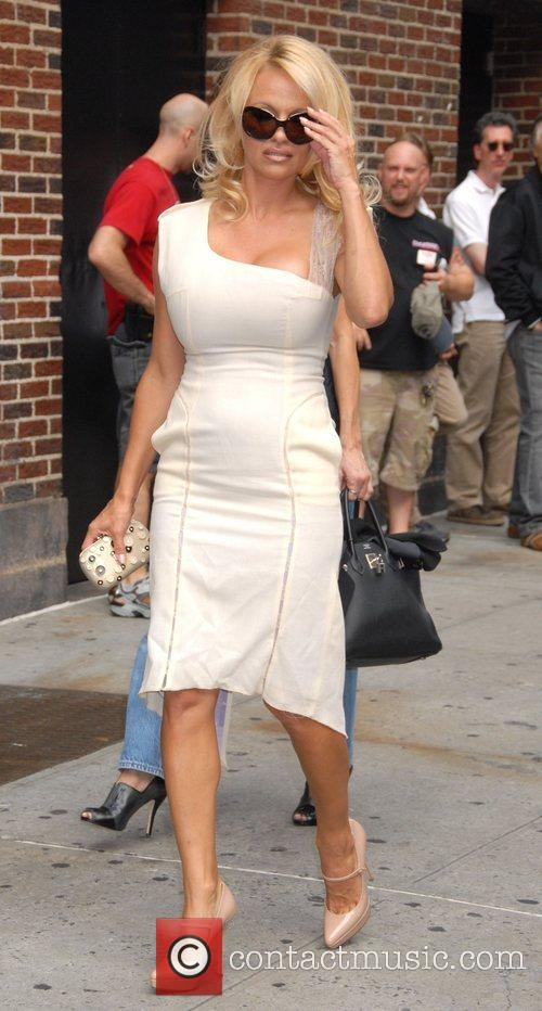 Pamela Anderson and David Letterman 10