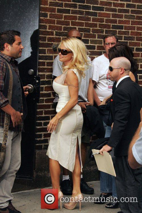 Pamela Anderson and David Letterman 7