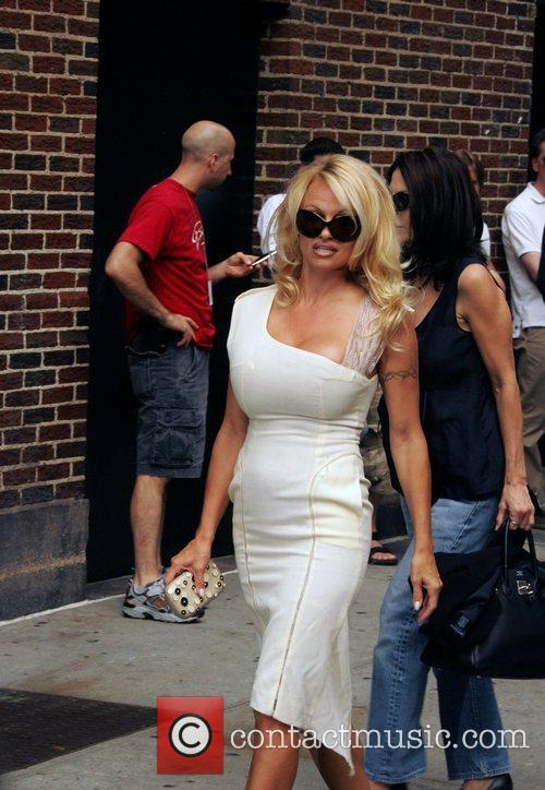 Pamela Anderson and David Letterman 6