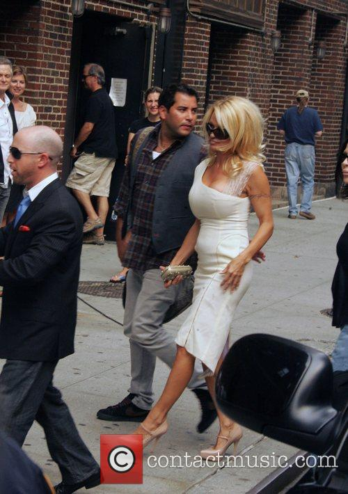 Pamela Anderson and David Letterman 8