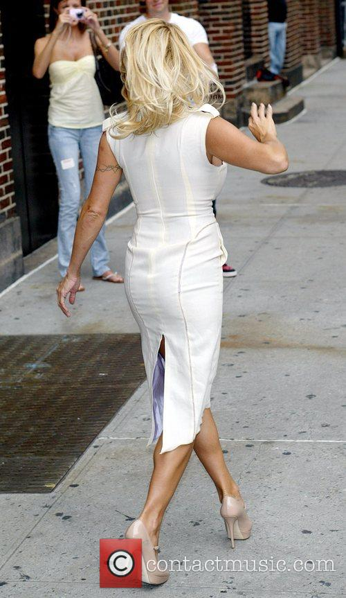 Pamela Anderson and David Letterman 25
