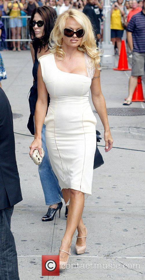Pamela Anderson and David Letterman 22