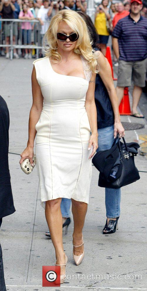 Pamela Anderson and David Letterman 27