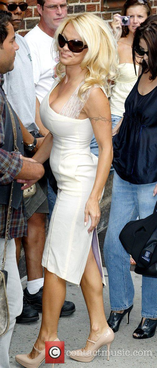 Pamela Anderson and David Letterman 24