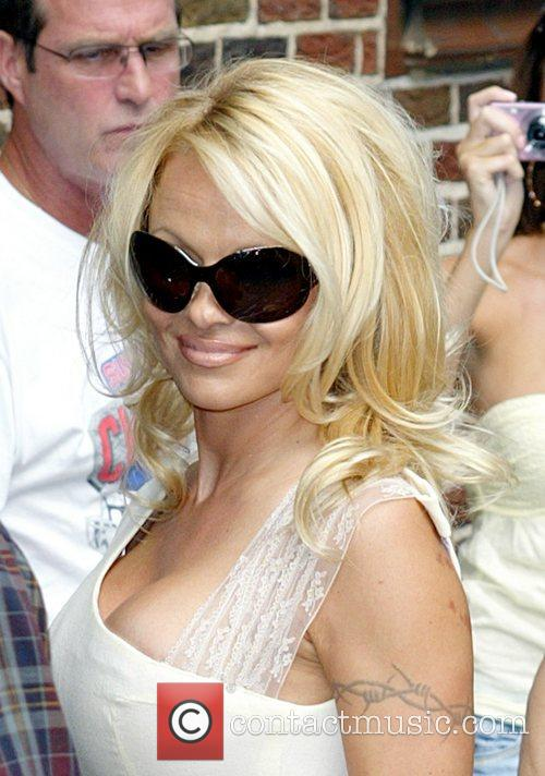 Pamela Anderson and David Letterman 23