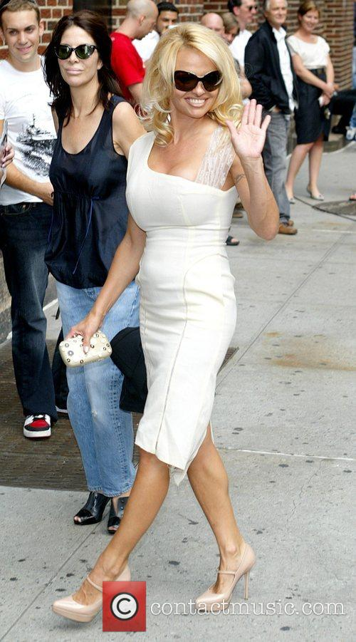 Pamela Anderson and David Letterman 20