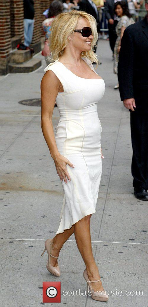 Pamela Anderson and David Letterman 30