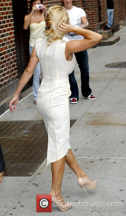 Pamela Anderson and David Letterman 17