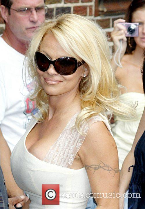 Pamela Anderson and David Letterman 32