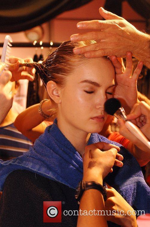 Model London Fashion Week - Amanda Wakeley -...