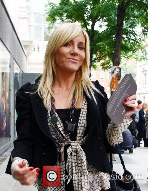 Michelle Collins London Fashion Week - Spring/Summer 2009...