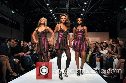 Fashion for Relief catwalk held at the BFC...