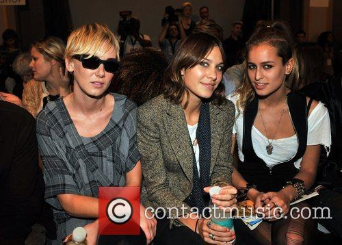 Kimberly Stewart and Alexa Chung 5