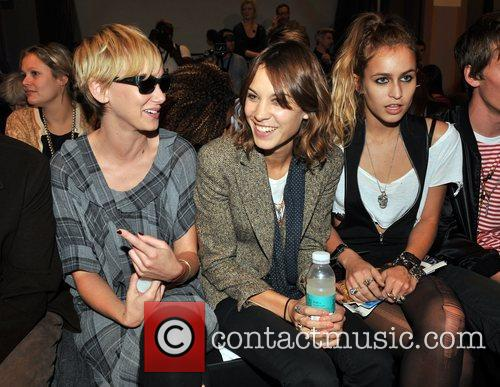 Kimberly Stewart and Alexa Chung 6