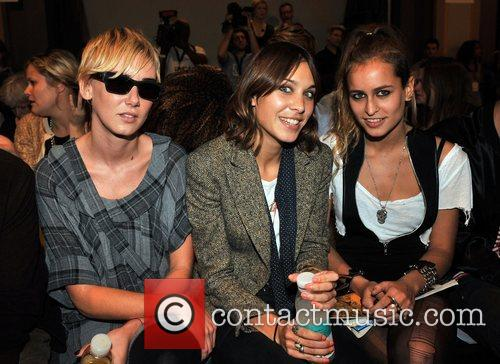 Kimberly Stewart and Alexa Chung 7