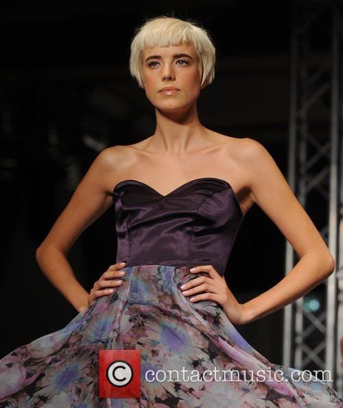 House of Holland Spring/Summer 2009 catwalk at the...