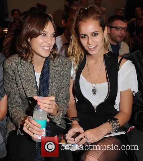 House of Holland Spring/Summer 2009 front row at...