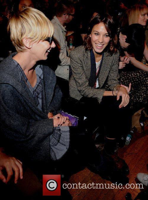 Kimberly Stewart and Alexa Chung 9