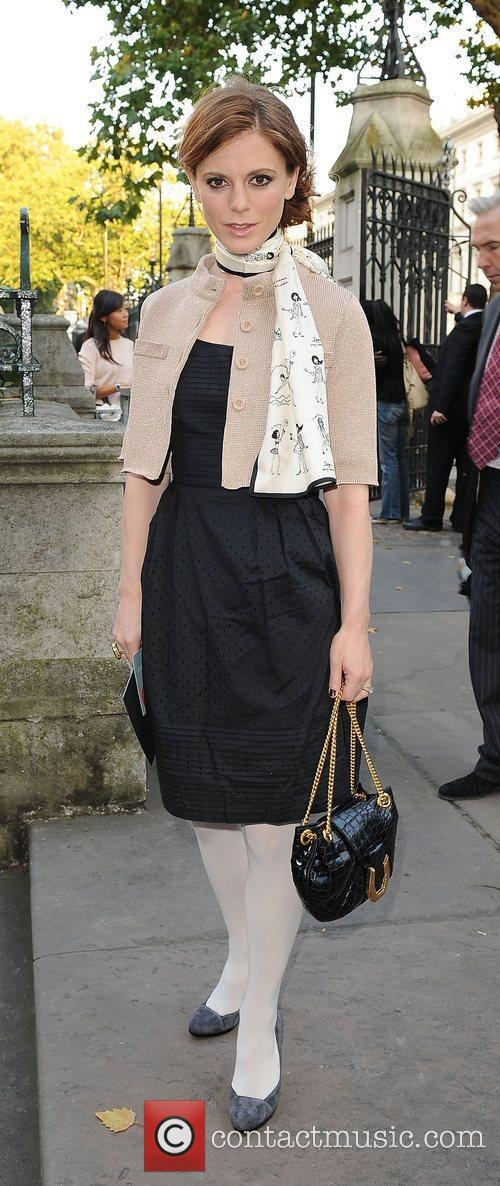 Emily Fox, London Fashion Week