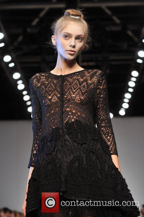Model - London Fashion Week - Spring/Summer 2009