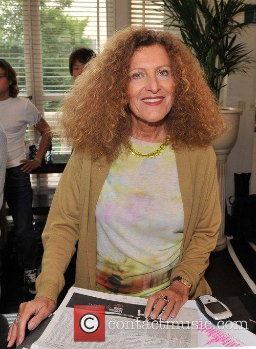 London Fashion Week - Nicole Farhi Sping/Summer backstage...