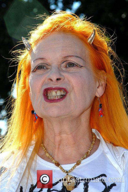 Vivienne Westwood Photocall for Liberty Protest outside the...