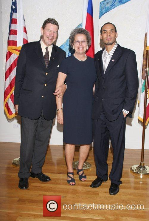 Christian Stocks, Consul General of Germany, Christina Stocks,...