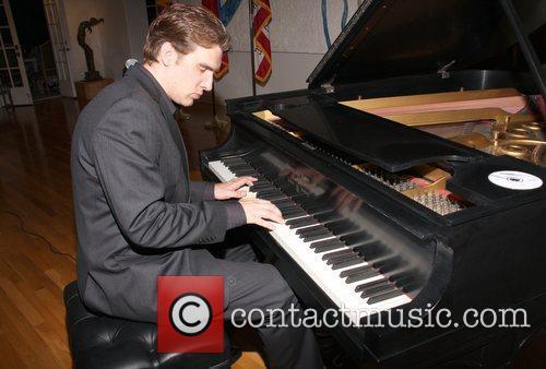 Matthew McGraw at the celebration of Liechtenstein's National...