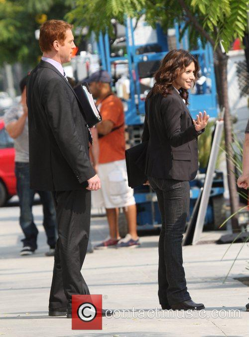Damian Lewis and Sarah Shahi 2