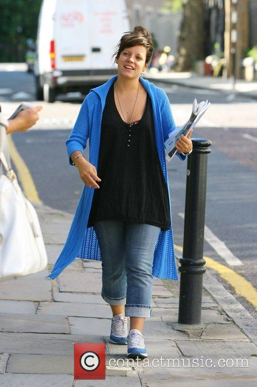 Lily Allen Singer Lily leaves her PR agency...