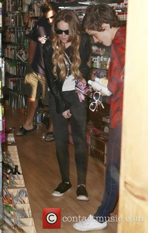 Lindsay Lohan and Samantha Ronson 2