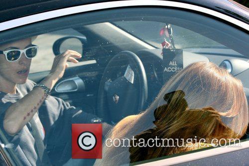 Lindsay Lohan and Samantha Ronson leaving the Neil...