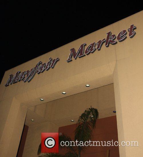 General View of Mayfair market DJ Samantha Ronson...