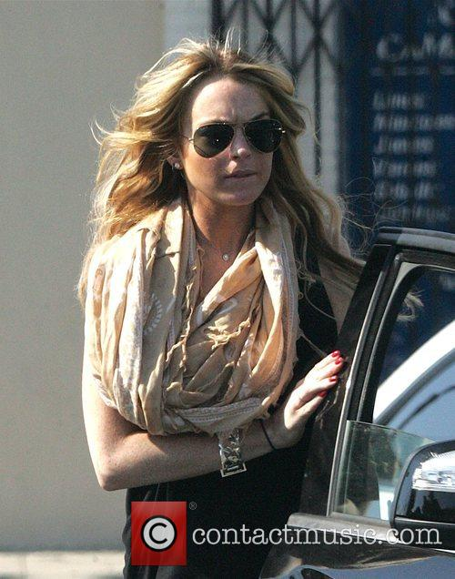 Lindsay Lohan Out shopping in Hollywood Los Angeles,...