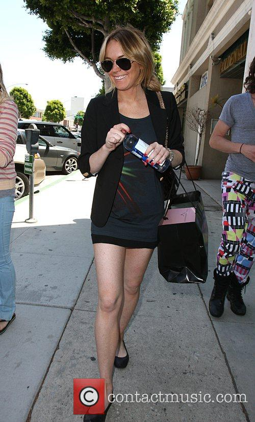 Lindsay Lohan  Out shopping with friends in...