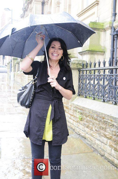 Alison King leaving the launch of Stella McCartney's...