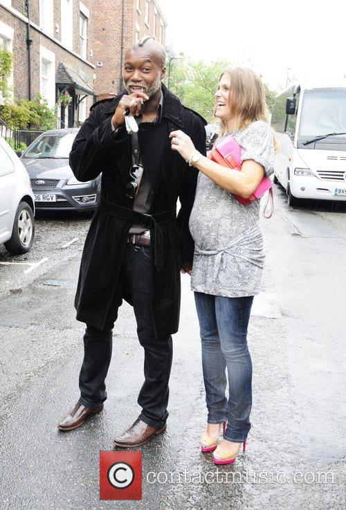Djibril Cisse and Stella Mccartney 2