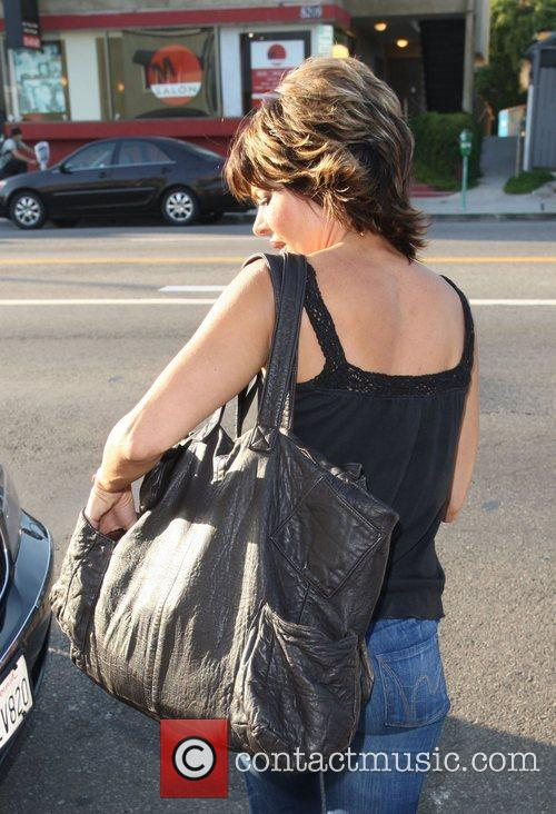 Lisa Rinna leaves Winsor Pilates in West Hollywood...