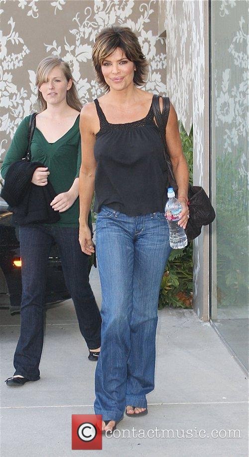 Leaves Winsor Pilates in West Hollywood after a...