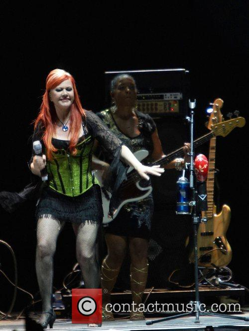 Kate Pierson from the B52's,  Lisbon Callatg...