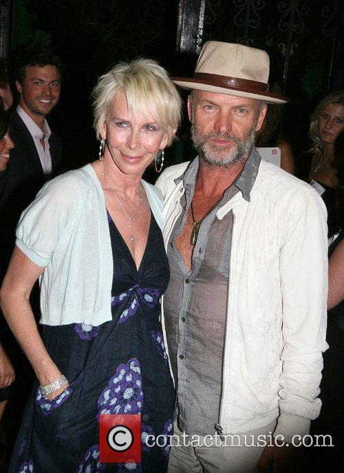 Trudie Styler and Sting aka Gordon Sumner Lokah's...