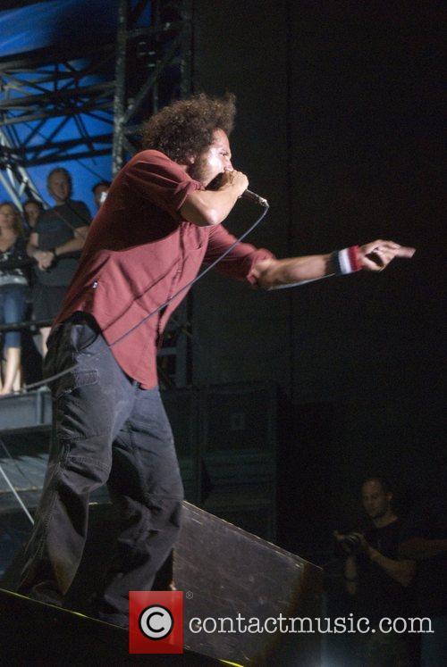 Zack de la Rocha of Rage Against the...
