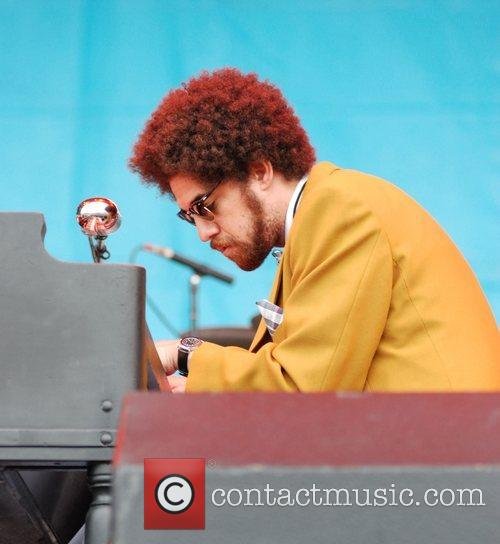 Danger Mouse of Gnarls Barkley performing at the...