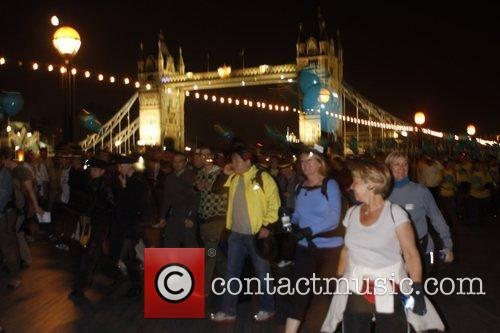 London Night Hike to raise funds for Maggie's...