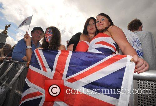 Atmosphere The Olympic handover celebrations - The Visa...