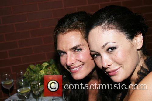 Brooke Shields and Lindsay Price Longchamp 60th Anniversary...