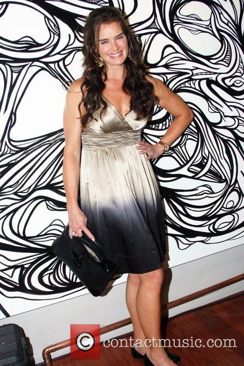 Brooke Shields Longchamp 60th Anniversary Celebration at the...