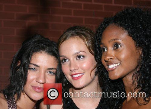 Jessica Szohr, Leighton Messter and Guest  Longchamp...